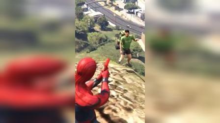 蜘蛛侠先生偷袭我们