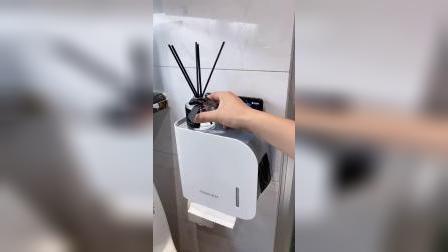 开箱:你家的卫生间是不是缺个这样的防水纸巾收纳盒呢?