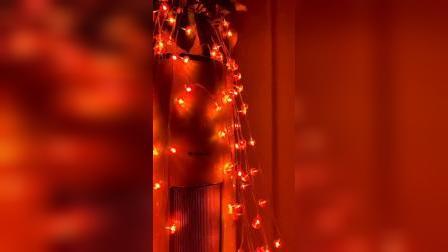 过年了,给家里装上这个小彩灯,温馨喜庆