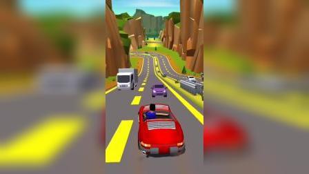 小游戏:冲啊,开车奔下山