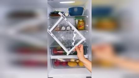 冰箱里乱糟糟的,拿取东西很不方便