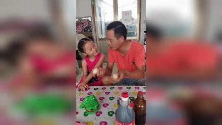 亲子游戏:宝宝请爸爸吃蜂蜜