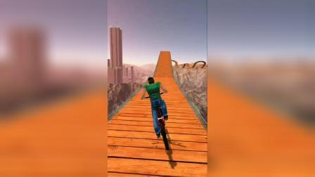 小游戏:波折的单车赛道