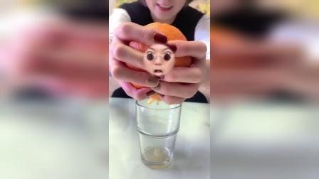 欢乐童年:哈哈,今天我是一个大橙子