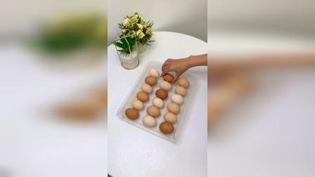 开箱:还在乱放鸡蛋吗,用这个鸡蛋收纳盒吧!整齐收纳#好物推荐