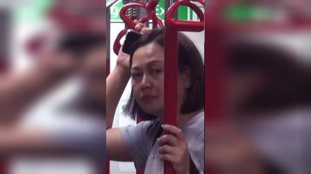 寻秦记中最美赵姬,如今挤地铁独自抚养8岁儿子,颜值不再