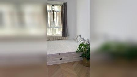 榻榻米房间在慢慢添置了,最不满意的还是窗帘