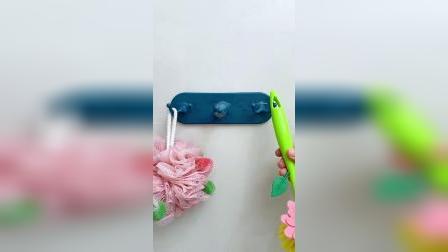 免打孔的门吸挂钩,不伤墙面,减震消音,还可以当挂钩