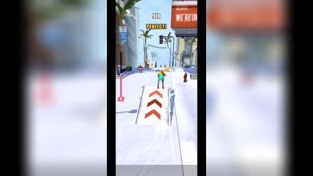 小游戏:滑雪大冒险