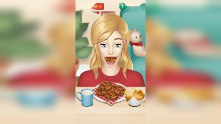 小游戏:小姐姐在吃早餐吗