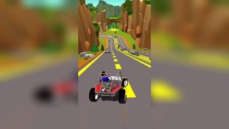 小游戏:越野车冲下山