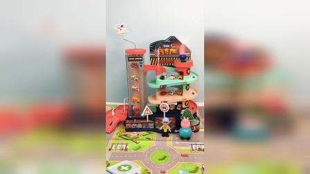 汽车大楼跑道玩具场