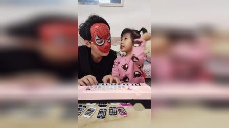 搞笑一家:蜘蛛侠打扰我睡觉