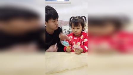 搞笑一家:宝贝不能吃糖牙都掉了
