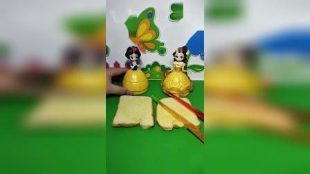 益智玩具:哪个公主做的面包好吃呢