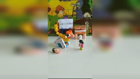 乐高玩具:妹妹受伤了,辛亏有奥特曼帮忙