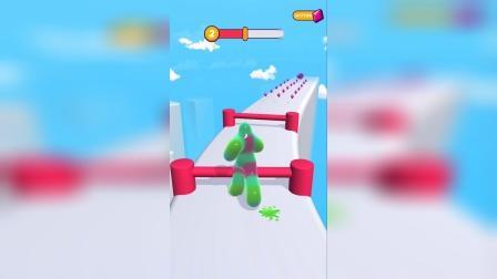 这个果冻人该怎么跨过去呀?