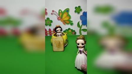 益智玩具:白雪被母后关起来了