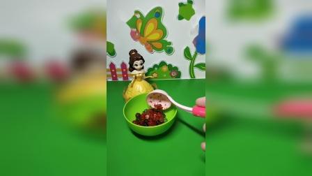益智玩具:贝儿用辣椒给白雪做奶茶