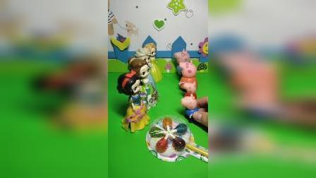 益智玩具:小朋友们希望谁赢呢
