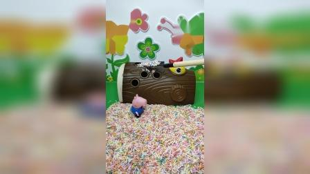 益智玩具:是谁把沙子弄到了小鸟身上!755