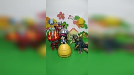益智玩具:快来和奥特曼一起救白雪公主吧!