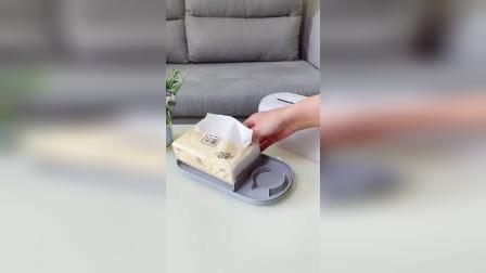 多功能加湿纸巾盒,干湿两用,装进消毒水秒变消毒湿巾
