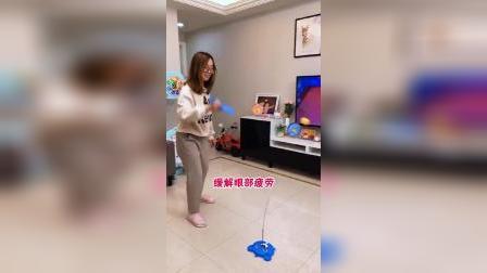 亲子游戏《立式乒乓球》,增强孩子反应力