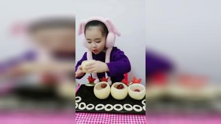 快乐童年-给涵涵做小零食,看着就想吃