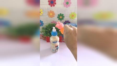 儿童益智玩具:不开心喝口饮料