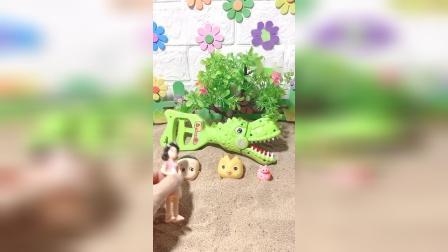 儿童益智玩具:趁着鲨鱼睡着救走小宝宝