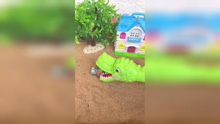 儿童益智玩具:大鳄鱼来了好吓人