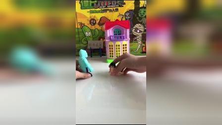 儿童玩具:屋顶着火了
