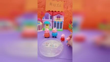 小猪一家在坭坑里玩耍