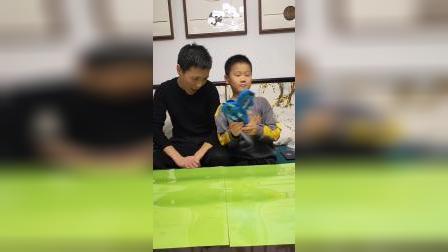 子韩的童年:这次爸爸认输了
