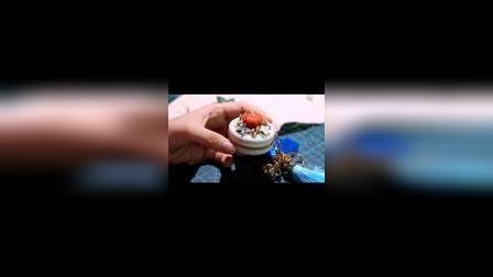 冬小麦刺绣-南瓜马卡龙