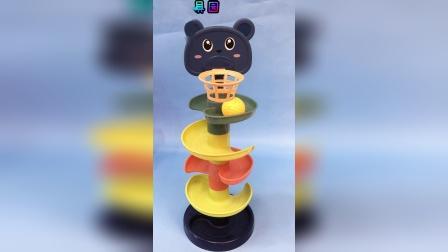 少儿亲子小熊投篮玩具