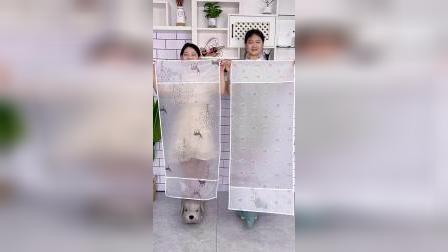 冰箱顶上每次打扫都要站在凳子上,有这个防尘罩以后就方便多了