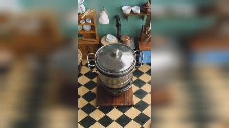 迷你厨房:试做珍珠奶茶蒸饭,这个味道简直了