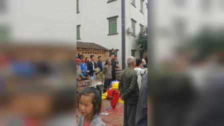 湛江市黄略镇坭洋村,正月十七年例武术表演