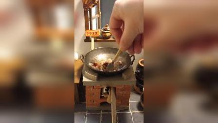 迷你厨房:今日份鱼香肉丝,粉丝点的菜快来自取