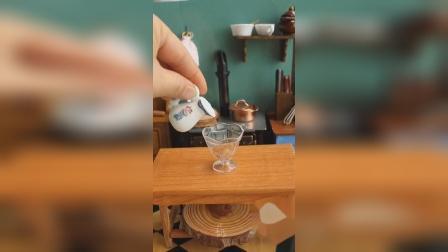 迷你厨房:制作迷你珍珠奶茶,下一步就做网红珍珠奶茶蒸饭