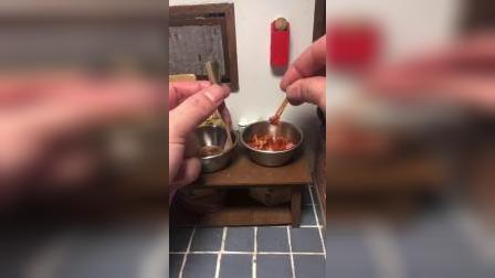 迷你厨房:置办年货过新年了,香肠腊肉都做好了