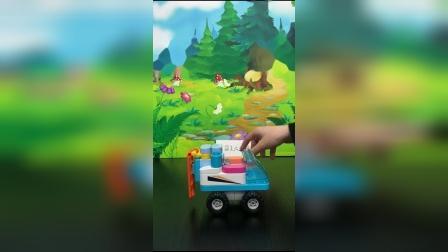 儿童玩具:猪妈妈原来有豪车