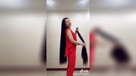 女人玩长发