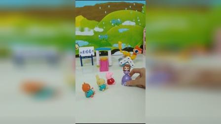 老师带小朋友去游乐场玩