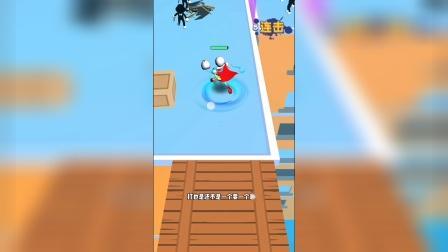 小游戏:骷髅人用大骷髅打掉坏蛋