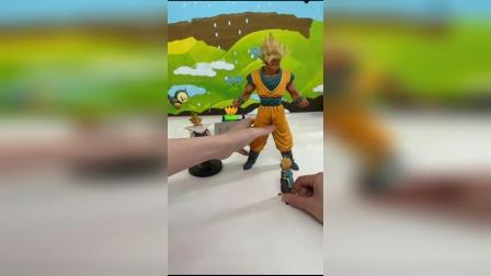 儿童玩具:超级赛亚人孙悟空要出动了
