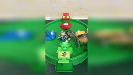 小青蛙的食物被谁偷吃了