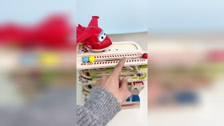 儿童益智玩具,小球跑道